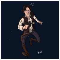 Han Solo by stayte-of-the-art