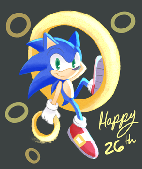 26th anniversary!! by sirenami