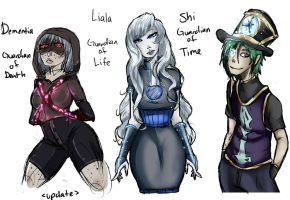 Guardians Redesigns by Chibi-Works