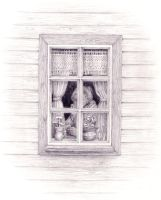 By the kitchen window by N-o-B