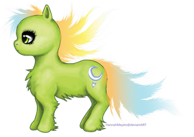 Firefly Glow OC Pony by HannahMeyers