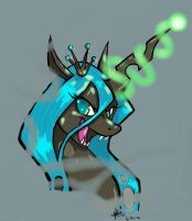 Chrysalis In The Mist by TwinCandles