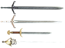 Sword PNG Stock by Roys-Art
