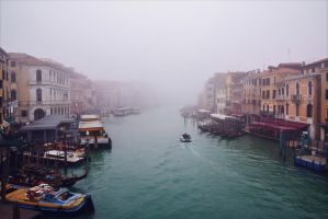 Foggy Venice X by Aenea-Jones