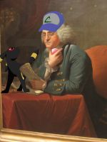 Ben Franklin: Pokemon Trainer by bbpenguin