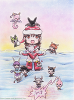 Merry Christmas 2013 by Bubble-Chubi
