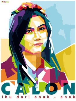Melody in WPAP by IndraRisky