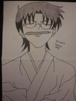 Shigure Sohma by spongebobjack