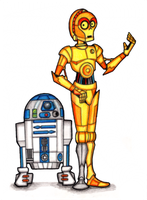 Look Sir, Droids by brothersdude