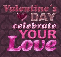 Valentine photoshop styles by Divenadesign