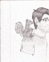 Mark is KING of the Squirrels by DoctorWHOligan