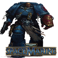 WH 40K Space Marine Dock Icon by Rich246