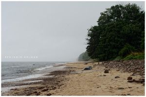 Fog Beach by BAproductions