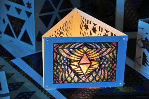 Magic Triangles Handicraft Work 2 by 8DFineArt