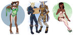 [commission] Iron Artist round 2 - 1,2,3 by SirMeo
