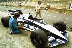 Brabham BT52 (Great Britain Test Session 1983) by F1-history