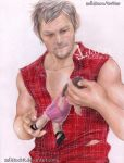 Daryl Dixon  TWD season2 - I will find you by zelldinchit