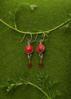 Miss Merry earrings by red20