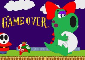 SMB2 Game Over by Kphoria