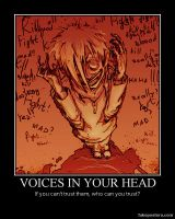 Voices in Your Head by MilfredxCubical