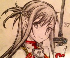 Asuna by cmbmint