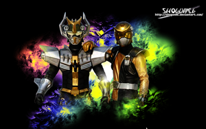 Tokumei Sentai GoBusters Wallpaper 2 by ShoguN86