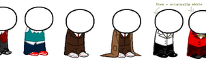Suits - Sprite Clothing by WardenofLife
