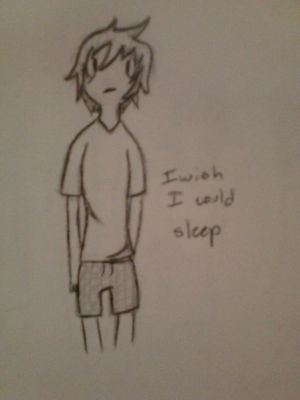 I Wish I Could Sleep by finnlovesmeforevah