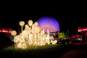 Epcot Spaceship Earth Stock 26 by AreteStock