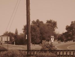 21st Century Sepia: Signs by cillanoodle