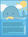 Whale journal skin by Clouded-Sky