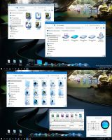 AZURE GLASS ST W10 IconPack by alexgal23