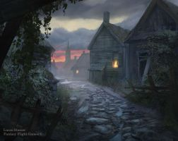 Village Commons by AlcoholicHamster