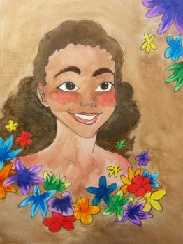 Madagascar Girl by HopeMcKin