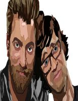Rhett and Link Pen Color 2 by daylover1313