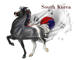 Horse Hetalia:  South Korea by Moon-illusion