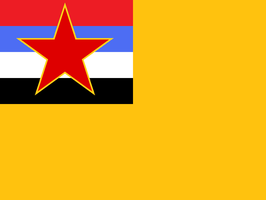 Flag of Democratic Republic of Manchuria by kyuzoaoi