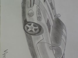 Sketched Viper SRT-10 by SomethingWild7