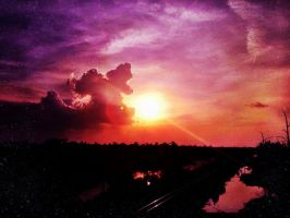 Sunset On The Bayou by TheGerm84