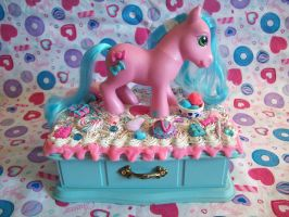 My Little Pony Jewelry Box by lessthan3chrissy