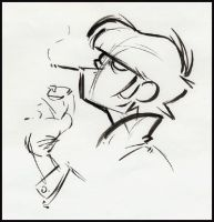 Murdoc Sketch by brakco
