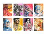 Marvel  70th Sketchcard pack-2 by newtonb