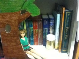 Peter Pan Shelve by k2pony