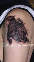 And his name was Death... by bill by SmilinPirateTattoo