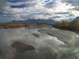 Heading North Out of Anchorage by richardcgreen