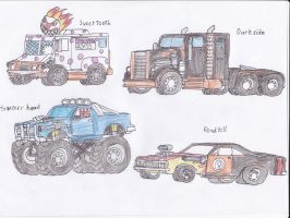 Twisted Metal concepts by Demonizer68