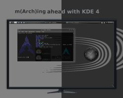 m(Arch)ing ahead with KDE4 by rvc-2011