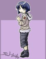 Hinata little and cute by sw