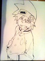 Soul Eater Evans by SonicHakeem