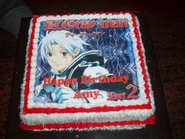 D Gray-Man cake by Lima-88